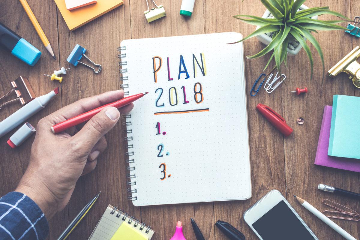 Seis tendências para seguir 2018