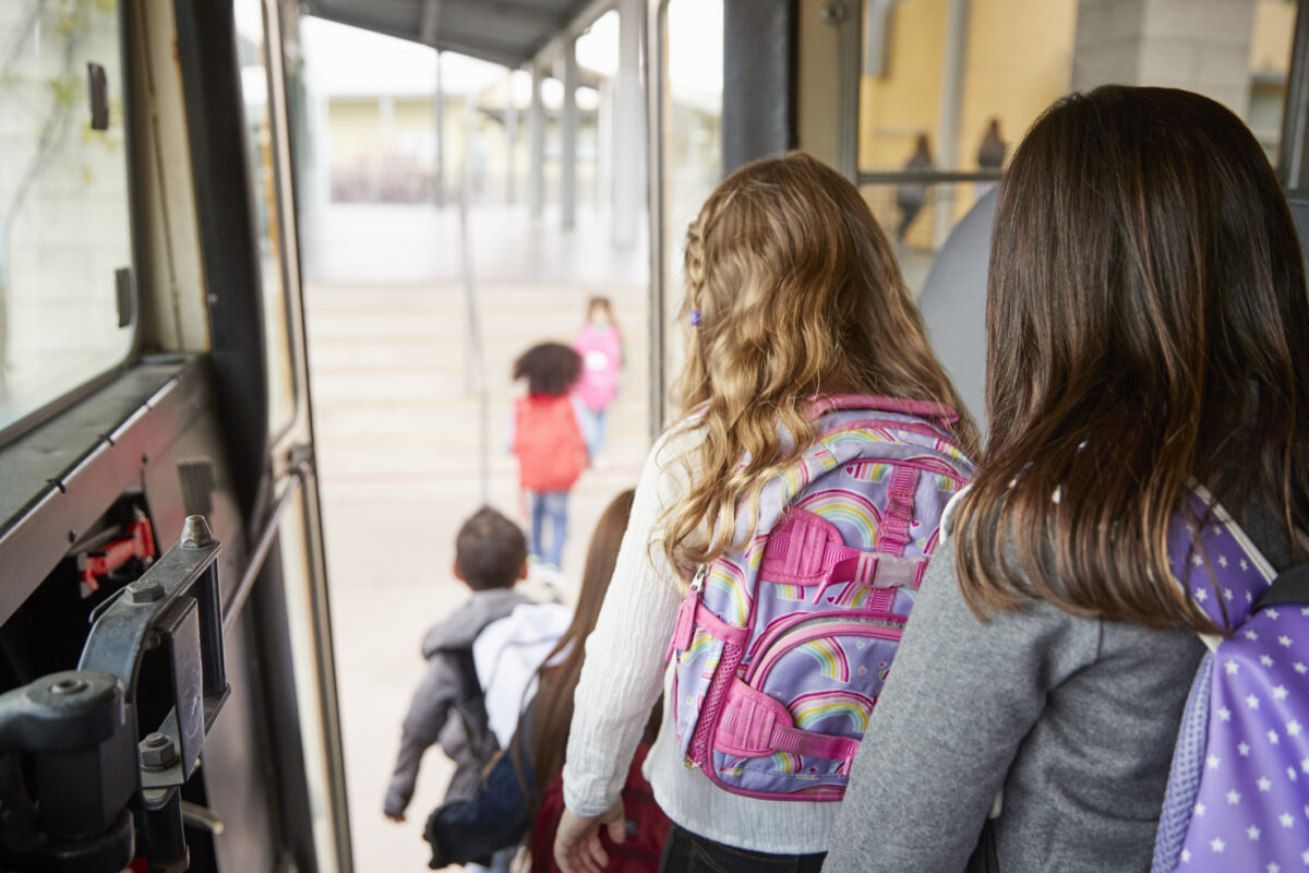 Transporte de crianças, para melhor gerir a rotina familiar